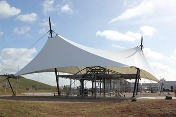 Bergermeer Gas Storage roof