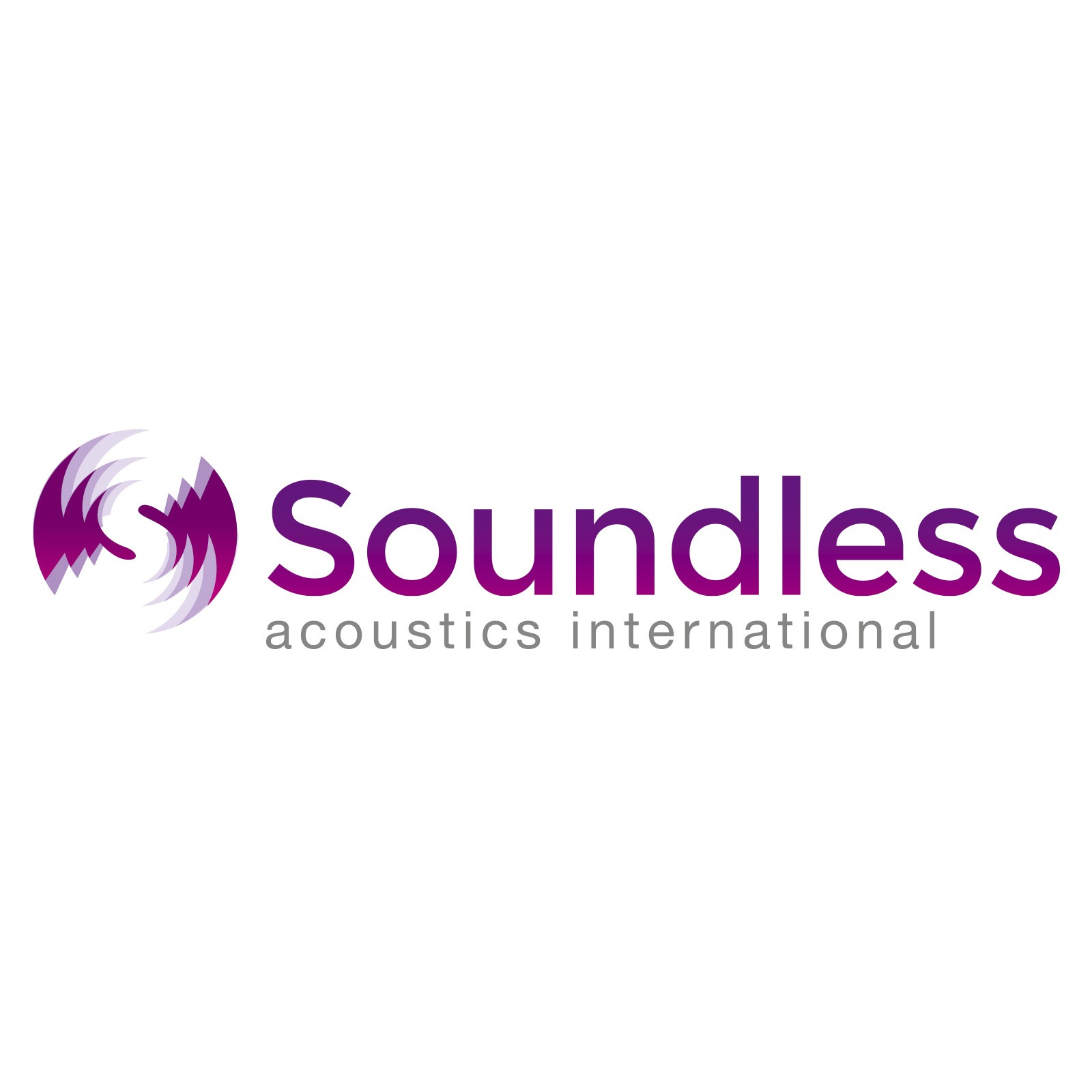 Logo Soundless acoustics Intl.