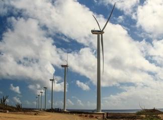 Wind Farm Vader Piet Aruba