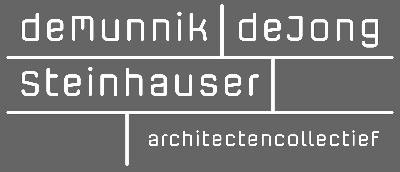 Logo deMunnik-deJong-Steinhauser architectencollectief