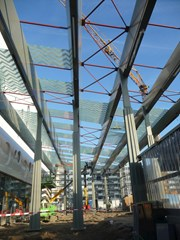Gouda train station canopy