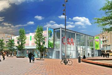 Winkelcentrum Amsterdamse Poort, Cluster 8