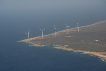 Wind Farm Playa Kanoa III and Tera Kora II on Curacao