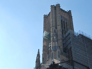 Glass balconies Eusebius Church (Glazen balkons Eusebiuskerk)