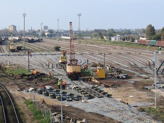 Supervision and contract management of Siemens MSR32 system and infrastructure construction of Šķirotava marshaling hump in Riga, Latvia