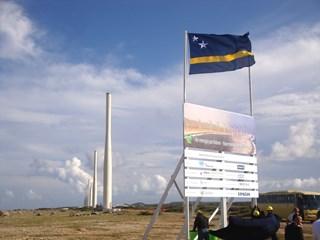 Wind Farm Playa Kanoa III and Tera Kora II on Curacao