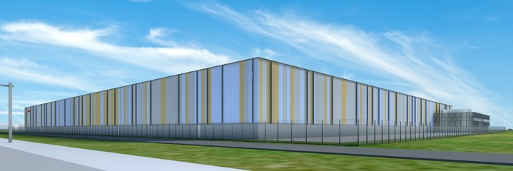 New building distribution center Wijchen