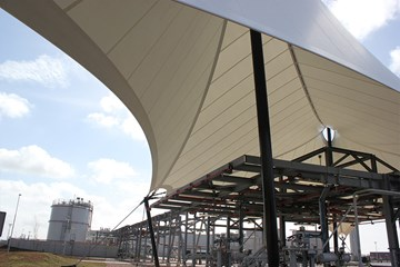 Bergermeer Gas Storage roof