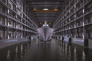 Oceanco Dry Dock